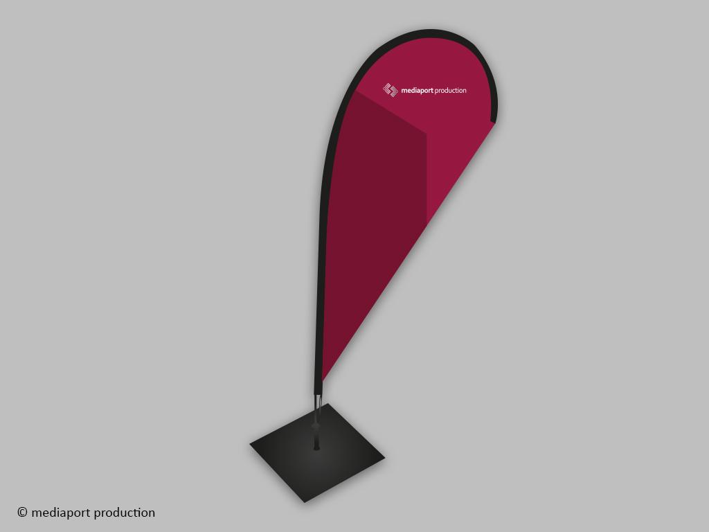 Beachflag M Tropfen