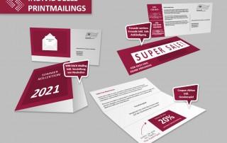 individuelle Printmailings