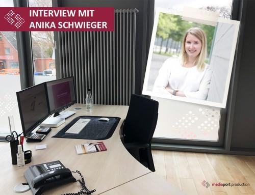 Einblick in den Arbeitsalltag und Interview mit Anika