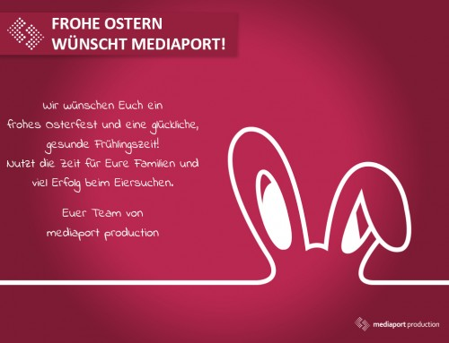 Frohe Ostern wünschen wir!