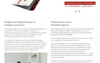 Website Redesign Mediaport Production